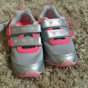 New Carters toddler girl athletic shoes
